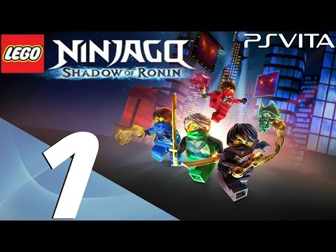 Lego Ninjago Shadow of Ronin - Walkthrough Part 1 - Prologue