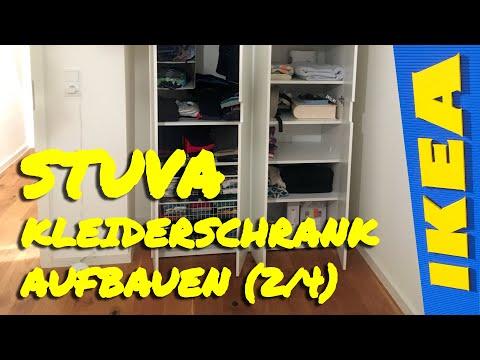 Ikea Stuva Kleiderschrank aufbauen - Kippschutz montieren (2/4)