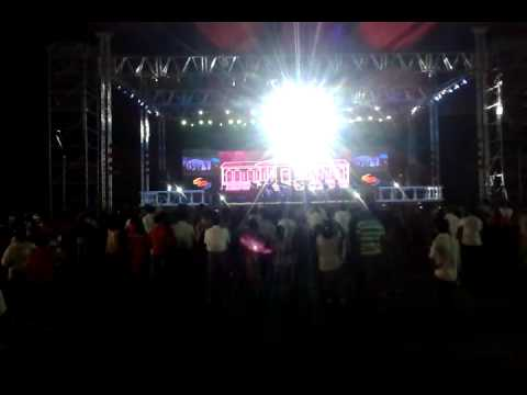 Goa Coconut and Cashew festival 2015 - Local Goan artists on stage