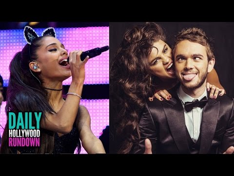 Ariana Grande Breaks Down Crying On Stage - Selena Gushes Over Zedd (DHR)
