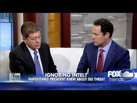 Judge Napolitano : Obama Is More Interested In Spying On Americans Than ISIS (Sept 03, 2014)