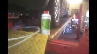 Refilling  dpf pat fluid on a ford