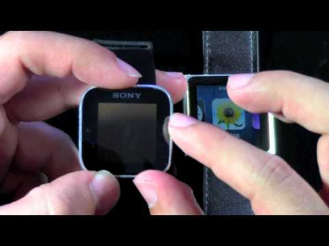 Sony Smartwatch vs the iPod Nano