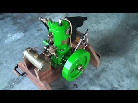 Detroit Engine Works - 1906 Marine Engine