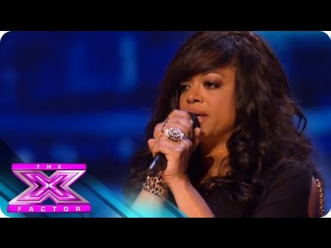 Stacy Francis 1st audition - THE X FACTOR 2011