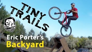 Backyard MTB Trails at Eric Porter's House