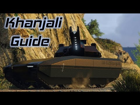 GTA Online: Khanjali In Depth Guide and Review (Railgun Stats, Comparisons, and more)