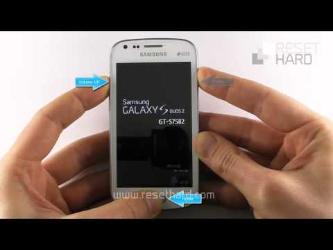 How To Hard Reset Samsung Galaxy S Duos 2