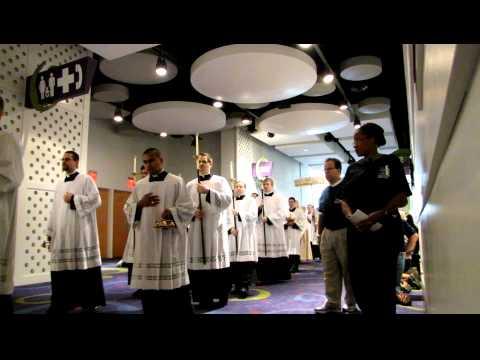 Eucharistic Procession, Archdiocese of Atlanta Eucharistic Congress 2012