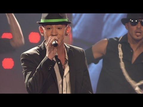 "DSDS 2012 - Top 08 Show Daniele Negroni mit ""Oh Jonny"" von Jan Delay"