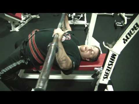 EXCLUSIVE! Bench press set up and leg drive tutorial Image 1