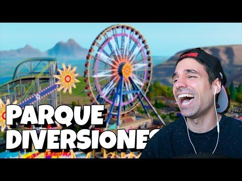 EL MAYOR PARQUE DE DIVERSIONES DE MINECRAFT