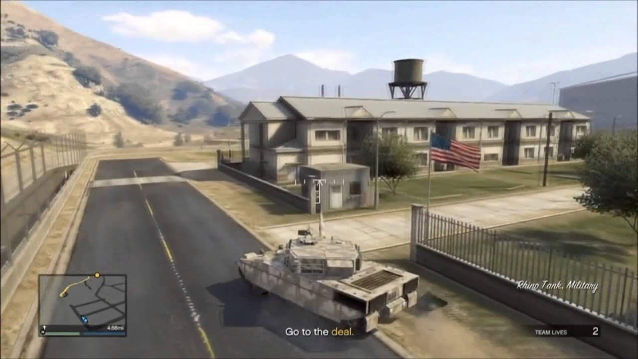 Gta Map Military Base Military Base in Gta 5