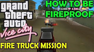 Fire Fighter - GTA Vice City