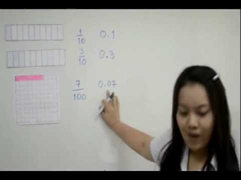 การสอนคณิตศาสตร์ ทศนิยมป.6.flv