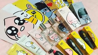 [Alışveriş] The Face Shop Kakao friends kore kozmetik / korean cosmetics