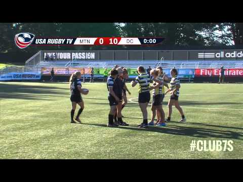 2014 Club 7s - Mountain Rugby Selects vs. DC Furies