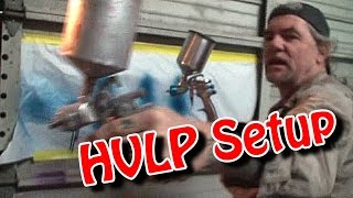 """How To Paint A Car""-By Yourself-Part 13-""HVLP Spray Gun Setup Instructions And Use"""