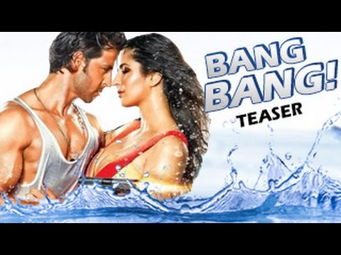 BANG BANG! Official Teaser - Trailer | Hrithik Roshan, Katrina Kaif – BREAKS Bollywood RECORDS