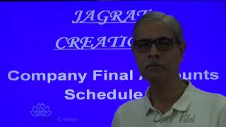 Company Final Accounts Schedule 3  Sum 1