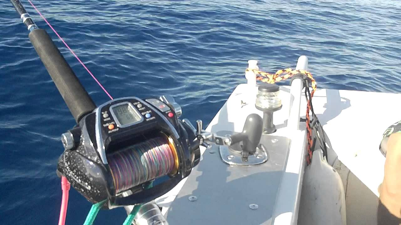 Electric Fishing Reel Used