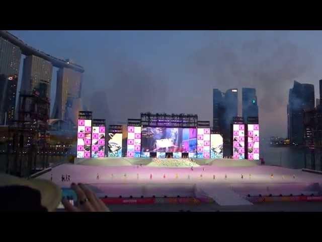"""Big Island (Case Woo's NDP 2014 Remix) """"Live"""" - Dick Lee"""
