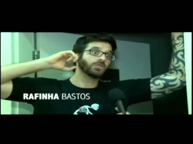 Bráulio entrevista para a Vem&Vê TV: Rafinha Bastos, Marcelo Marrom e Ben Ludmer.