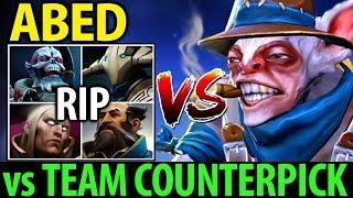 Insane Micro Meepo GOD by Abed vs Team Counterpick Dota 2 7.06 MMR Gameplay