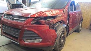 Ford Escape. Body repair. Ремонт кузова.