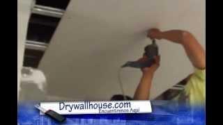 Proceso Constructivo en Drywall de un departamento en azotea  :proformadrywall@hotmail.com 990490167