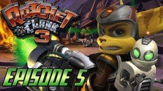 Ratchet et Clank 3 Let's Play - Episode 5 : A l'assaut sur Tyranosis