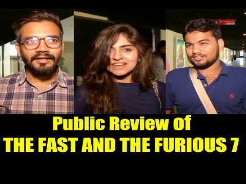 Public Review of THE FAST AND THE FURIOUS 7   Paul Walker. Vin Diesel. Dwayne Johnson.