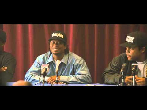 Straight Outta Compton - NWA Answers Questions - Own It On Blu-ray 1/19