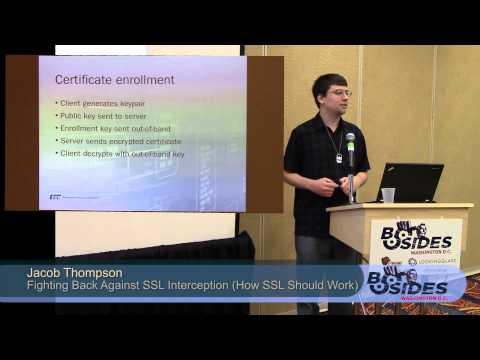 BSides DC 2014 - Fighting Back Against SSL Interception (or How SSL Should Work)