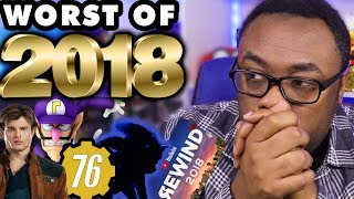 WORST OF 2018 (Movies, Games, Geek) - Black Nerd Rants
