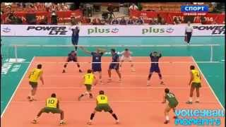 Volleyball Battle  Ricardo Lucarelli 10 VS Eavrin NGapeth 9