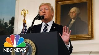 President Donald Trump Announces U.S. Withdrawal From Iran Nuclear Deal | NBC News