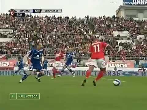 Динамо (Москва) - СПАРТАК 4:3, Чемпионат России - 2008