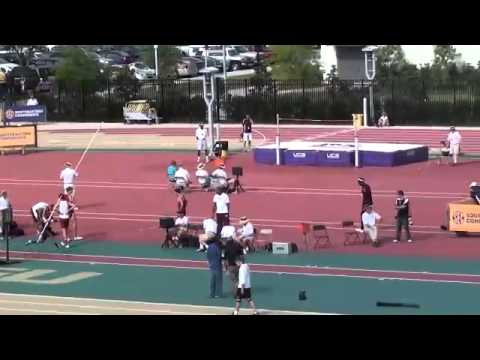 Jaora Johnson clears 5.10 2012 SEC outdoor