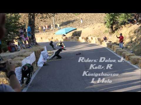 Final Padova Grand Prix 2012 Downhill Skateboarding World Cup