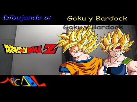 Dibujando a: Goku y Bardock