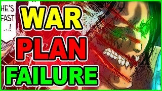 EREN and ARMIN's CRASHING FAILURE? Attack on Titan Chapter 105 Shingeki no Kyojin Chapter????? 105