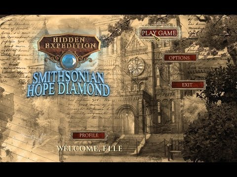 Hidden Expedition 6: Smithsonian - The Hope Diamond Gameplay & Free Download   HD 720p