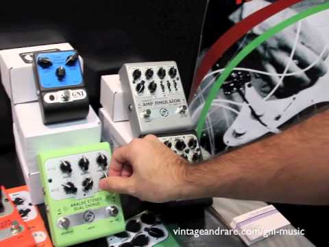 GNI Music / Winter NAMM 2011 / VintageandRareTV / Boutique Effects