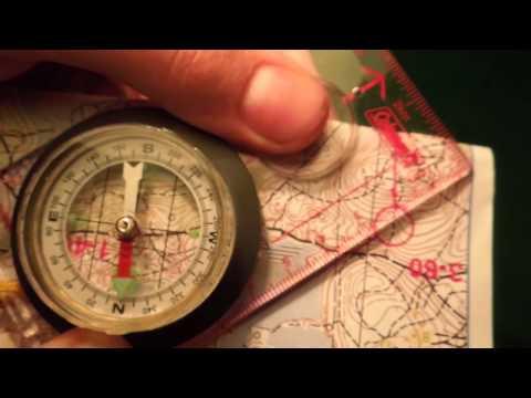 Азимут. Или как пользоваться компасом на местности.