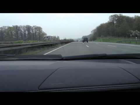 320 km/h (200 mph) on German Autobahn - Lamborghini Aventador LP 700-4 - Ride,Acceleration,Sound