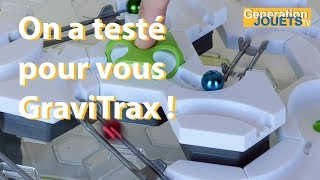 On a testé GraviTrax ! (UNBOXING & TEST)