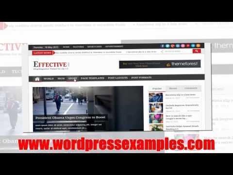 EffectiveNews - Wordpress Magazine Theme Effective News
