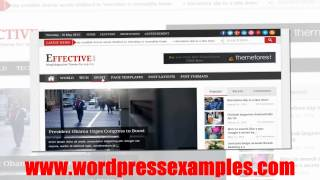EffectiveNews - WordPress Magazine Theme Effective News