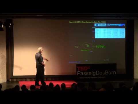 Asteroides y basura espacial -- dos amenazas reales: Salvador Sanchez at TEDxPasseigDesBorn